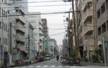 寿町のドヤ街(福祉センター周辺)
