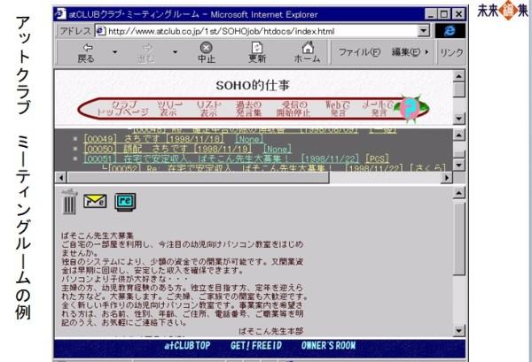 atclub画面例199901